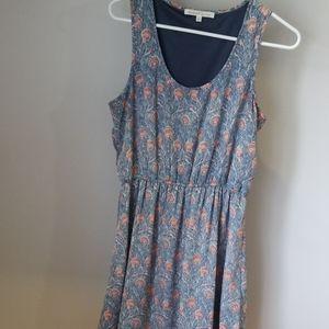 Slip on dress with beautiful pattern